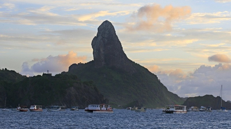 A view of Fernando de Noronha island in northeast Brazil (AP File Photo)