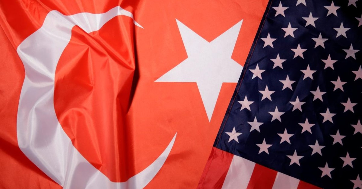 Turkey and U.S. flags are seen in this picture illustration taken August 25, 2018. (REUTERS Photo)
