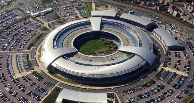 An aerial image of the Government Communications Headquarters (GCHQ) in Cheltenham, Gloucestershire. (Photo courtesy of GCHQ)