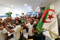 مشجعون لمنتخب الجزائر (الفرنسية)