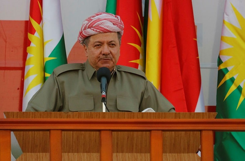 Undated file photo of Kurdistan Regional Government (KRG) President Masoud Barzani.