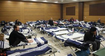 Istanbul's winter shelters a warm abode for the homeless