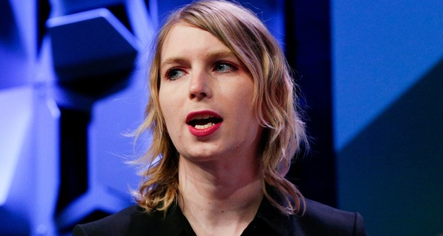 Chelsea Manning speaks at the South by Southwest festival in Austin, Texas, U.S., March 13, 2018. (Reuters Photo)