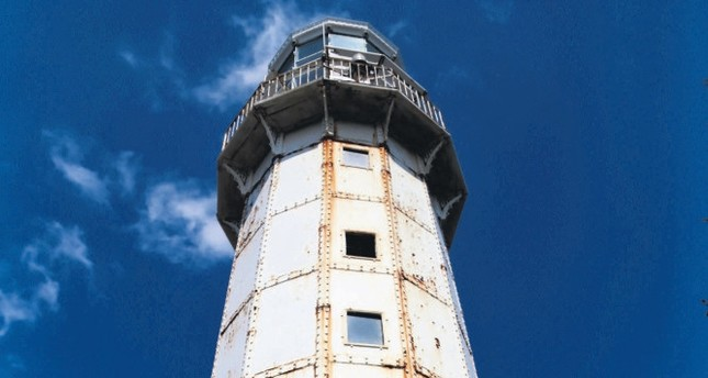 Hora Lighthouse, centuries old illuminator of the Sea of Marmara