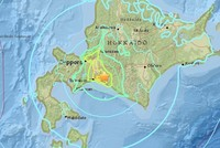 Magnitude 6.6 earthquake hits Japan's Hokkaido island