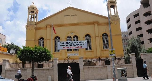 كنيسة في هاتاي التركية ترحب بحلول شهر رمضان المبارك