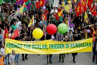 Presidential spokesperson Ibrahim Kalın slammed Germany on Tuesday for allowing sympathizers of the PKK terrorist group to organize a rally in Frankfurt.