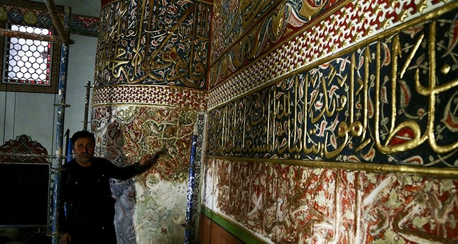 500-year-old handiwork uncovered in Rumi's Konya tomb