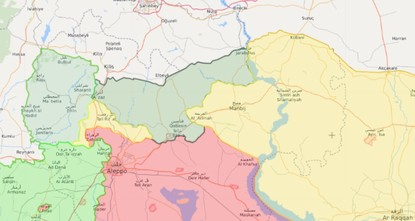 YPG will be cleared from all parts of northern Syria, Turkey tells US