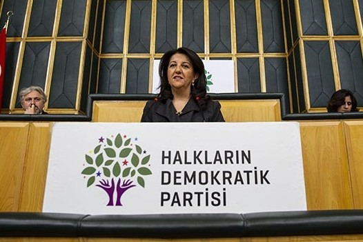 Peoples' Democratic Party (HDP) Co-chair Pervin Buldan (AA Photo)