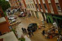 Deadly flash floods wash away car, kill driver in Spain