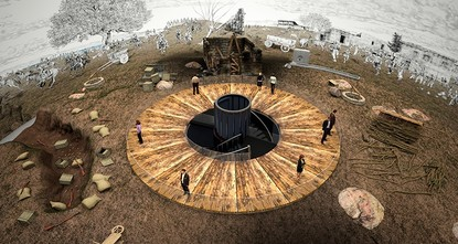 pThe new Sarıkamış Panorama Museum built in a National Park in northeastern Turkey's Allahuekber Mountains will take visitors on a journey through time and enable them to experience the World War I...
