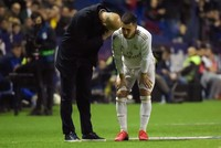 Hazard suffers new ankle blow in crucial week for Madrid