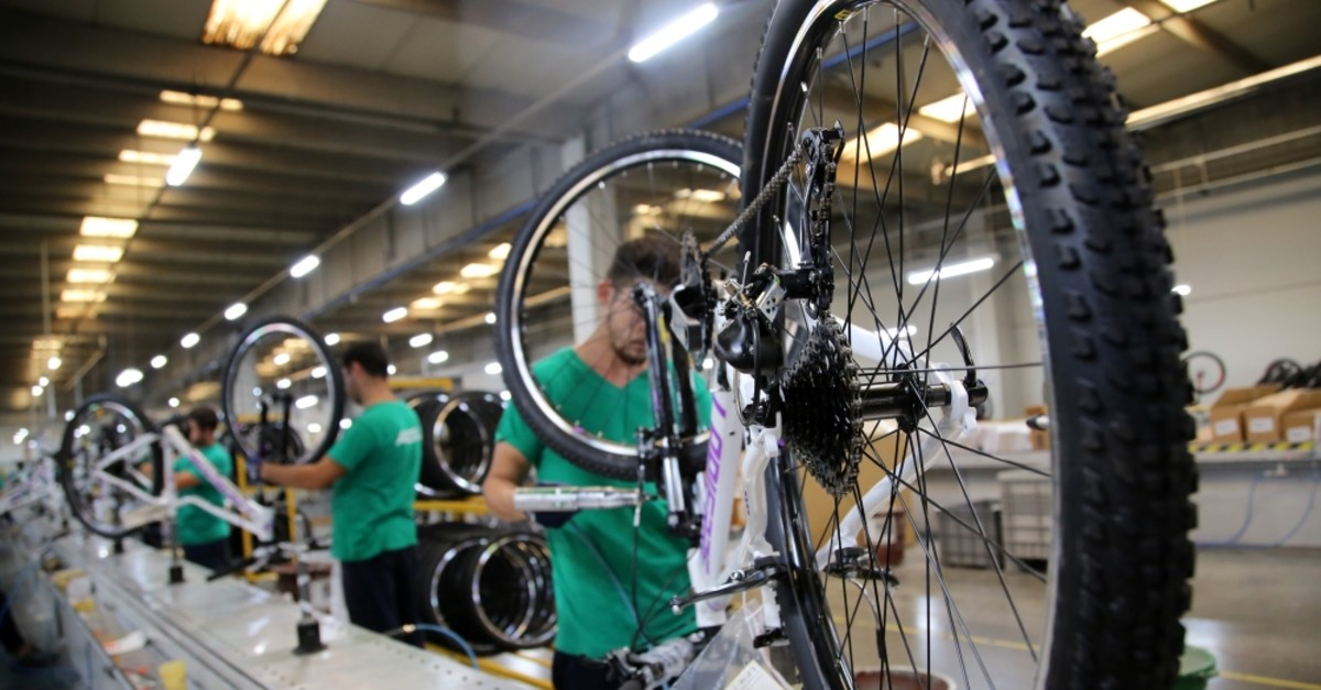 Some 280,442 bicycles were sold abroad last year.