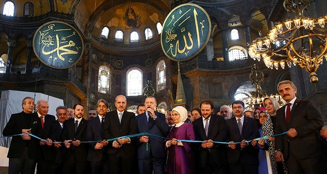 Erdoğan launches 1st classical Turkish arts biennial