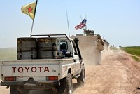 US continues to support YPG with delivery of 250 truckloads of weapons