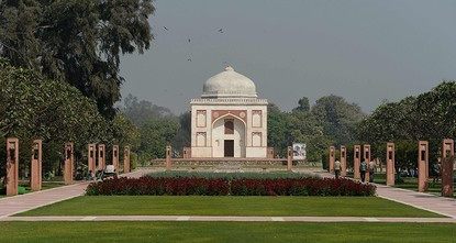 pA once-forgotten Mughal garden in the heart of New Delhi will reopen on Wednesday after years of painstaking conservation work, creating a new public park in India's sprawling and smog-choked...