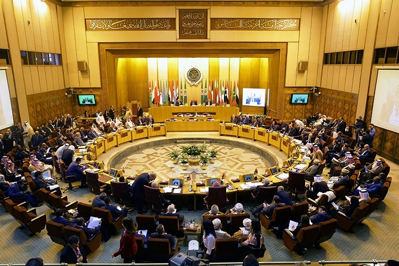 A general view of the Arab Foreign Ministers annual meeting at the Arab League headquarters in Cairo, Egypt (EPA File Photo)
