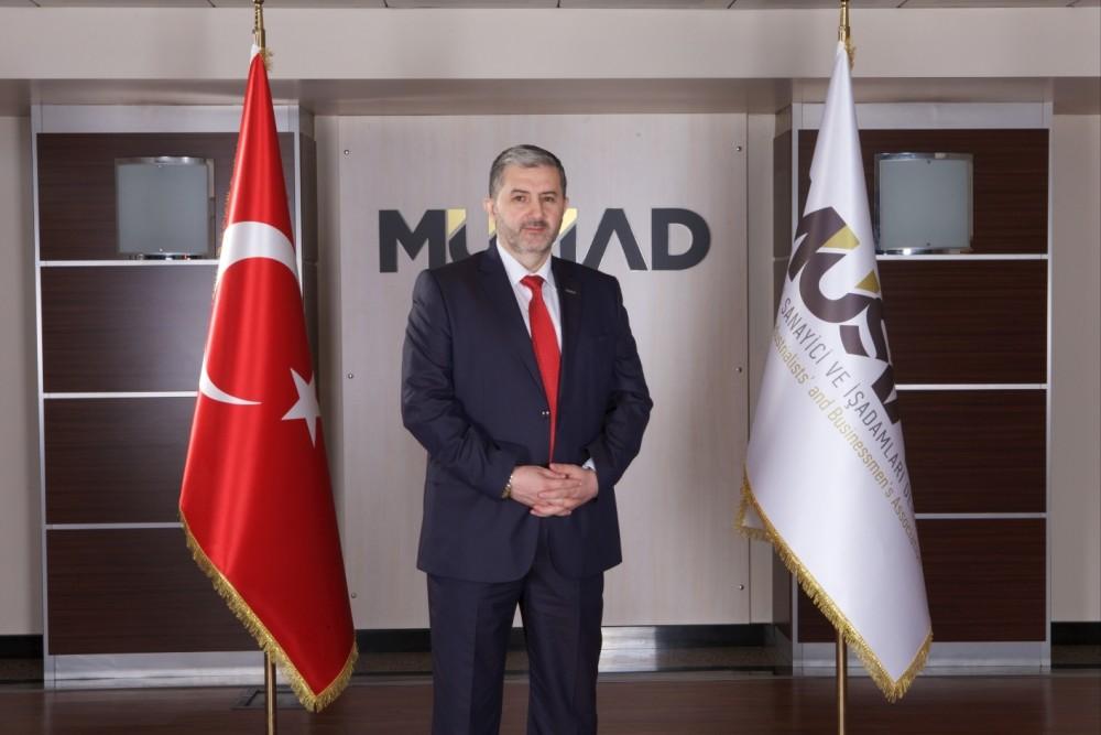 Chairman of Independent Industrialists and Businessmen Association (Mu00dcSu0130AD) Abdurrahman Kaan.