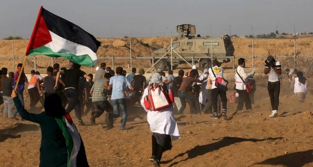 إصابة 24 فلسطينيا برصاص الجيش الإسرائيلي شرقي قطاع غزة