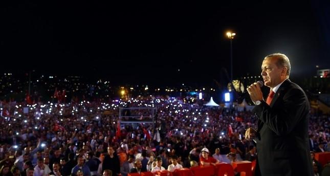 """Erdoğan zur Nation: """"Ihr habt die Zukunft der Türkei gerettet"""""""