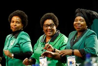 Ramaphosa, Dlamini-Zuma race for South Africa's ruling party leadership