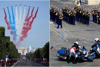 Crashes and a new French flag?: Mishaps mar start of Bastille Day celebrations