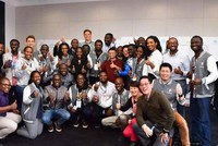 Alibaba founder Jack Ma teaches young Africans entrepreneurship