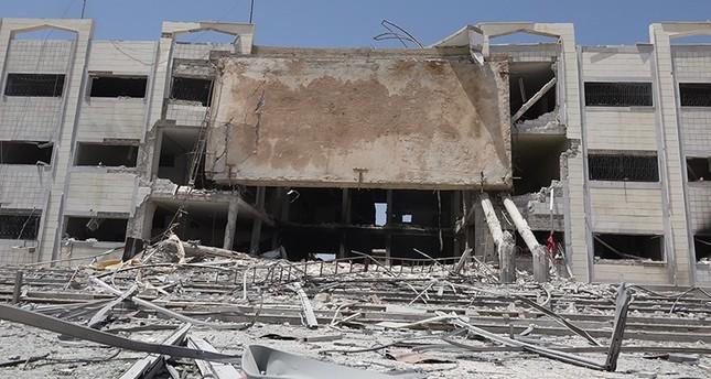 غارات روسية تدمر مستشفى مركزياً في درعا جنوبي سوريا