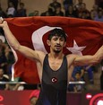 Turkish Greco-Roman wrestler grabs gold at Junior World Championship