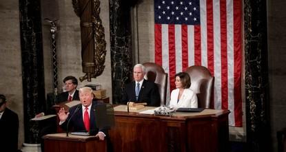 ترامب: نعمل علي إنهاء الحروب في الشرق الأوسطللحفاظ على حياة الأمريكيين