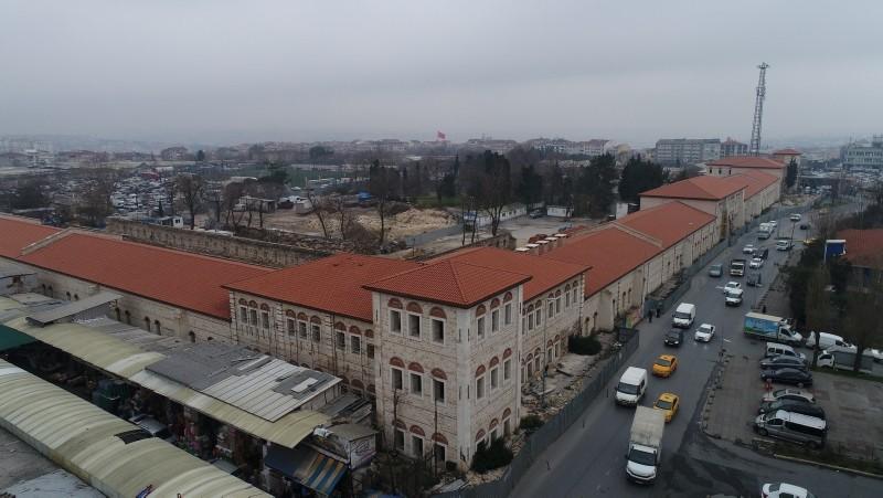A general view of Rami Barracks under renovation. (AA Photo)