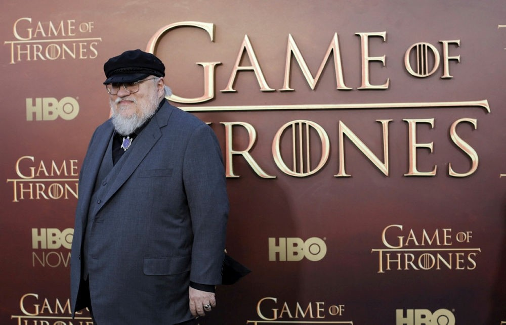 Co-executive producer George R.R. Martin arrives for the season premiere of HBO's ,Game of Thrones, in San Francisco, California, U.S. on March 23, 2015. (REUTERS Photo)