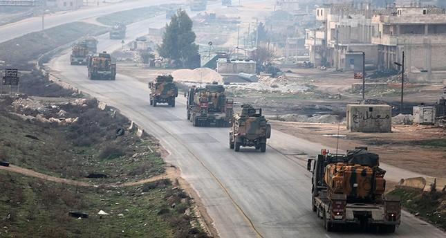 قوة عسكرية تركية تنشىء نقطة مراقبة جديدة جنوب شرق إدلب