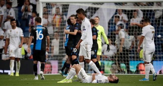 ريال مدريد يتعادل بشق الأنفس مع ضيفه المغمور كلوب بروج البلجيكي