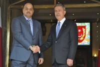وزير الدولة لشؤون الدفاع القطري في زيارة رسمية لأنقرة