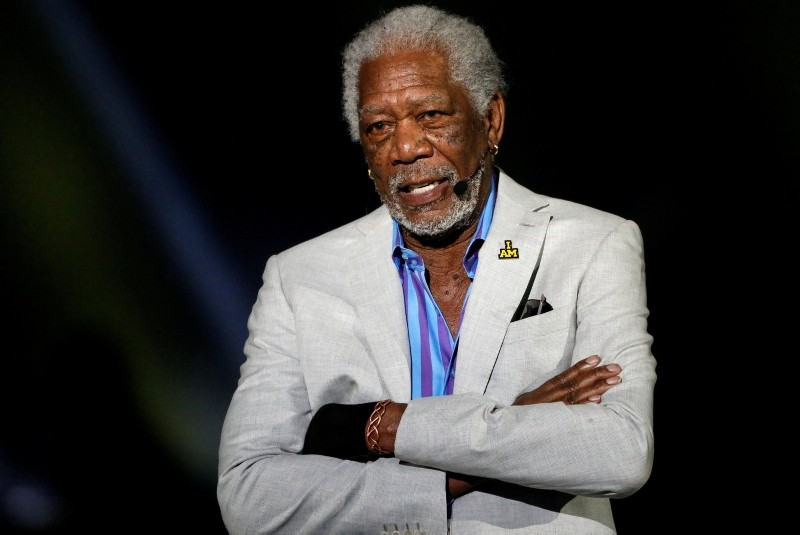 Actor Morgan Freeman takes part in the opening ceremonies of the Invictus Games in Orlando Florida, May 8, 2016. (REUTERS Photo)