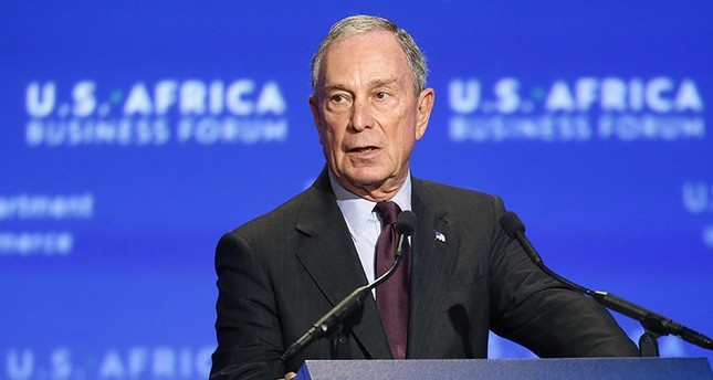 Former New York Mayor Michael Bloomberg opens the U.S.-Africa Business Forum in Washington in this August 5, 2014 file photo. (Reuters Photo)