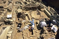 Eight shops discovered during the excavation of the ancient city of Antandrus