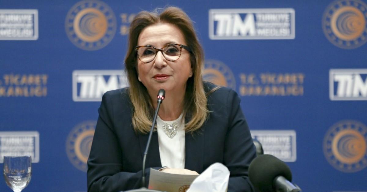 Trade Minister Ruhsar Pekcan. (AA Photo)