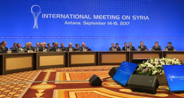 الدول الضامنة لآستانة تجري اجتماعات تحضيرية لمناقشة تشكيل اللجنة الدستورية
