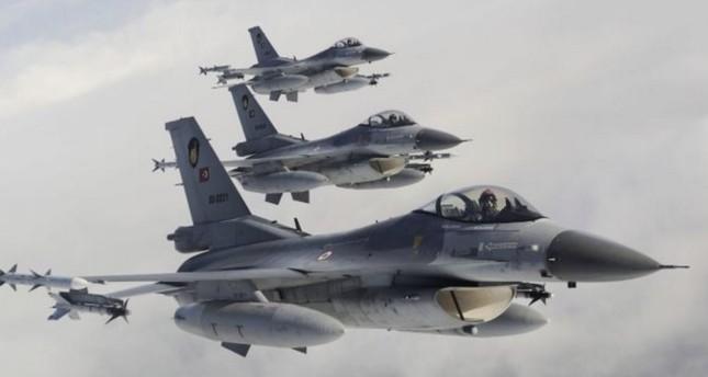 سلاح الجو التركي يدمر أهدافا لبي كا كا الإرهابي شمالي العراق