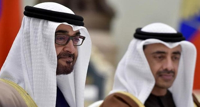 Sheikh Mohammed bin Zayed al-Nahyan (L), Crown Prince of Abu Dhabi (Reuters File Photo)