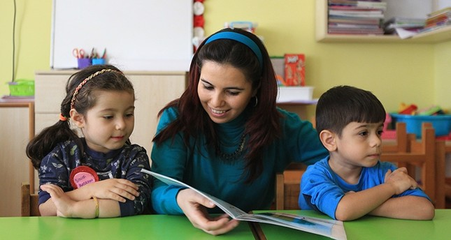 Turkish preschool teacher Nurten Akkuş is among the world's top 50 teachers selected as finalists for the Global Teacher Prize. (AA Photo)