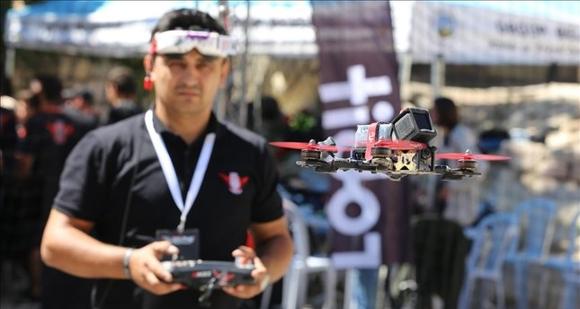 The highest-ranking competitors will represent Turkey at the World Drone Championships.