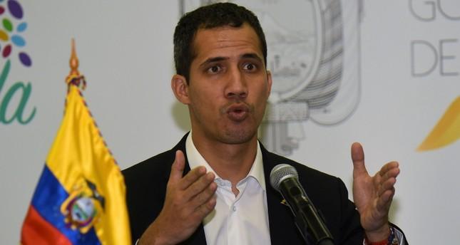 رئيس البرلمان الفنزويلي خوان غوايدو (وكالة الأنباء الفرنسية)
