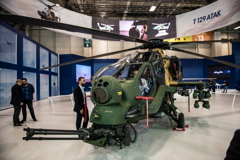 TAI's T129 Advanced Attack and Tactical Reconnaissance Helicopter (File Photo)