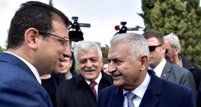 يلدريم وإمام أوغلو يناقشان مستقبل إسطنبول في مناظرة متلفزة
