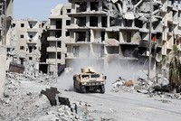 A convoy will leave Syria's Raqqa on Saturday under an evacuation deal agreed as a U.S.-backed force battles to seize the Daesh terror group's last positions in the city.  The US-led coalition,...