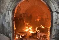 Fire destroys Ottoman-era Qaysari Bazaar in Iraq's Kirkuk